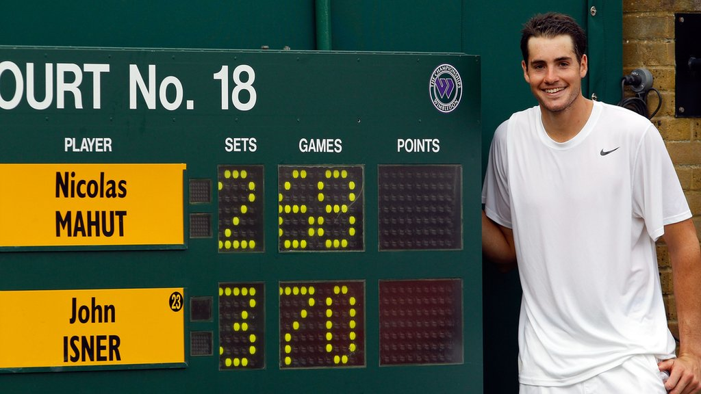 BBC TENNIS: 'They should say we'll now play the Isner Rule' – American backs Wimbledon change