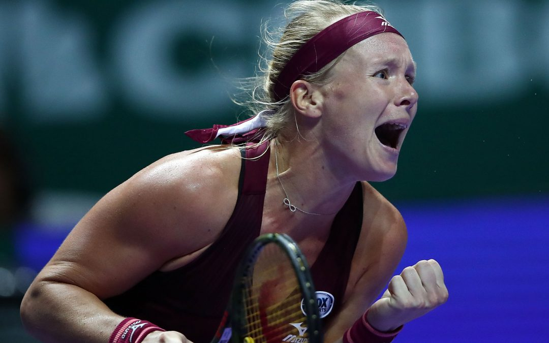 BBC TENNIS: WTA Finals: Kiki Bertens beats Angelique Kerber as Sloane Stephens beats Naomi Osaka