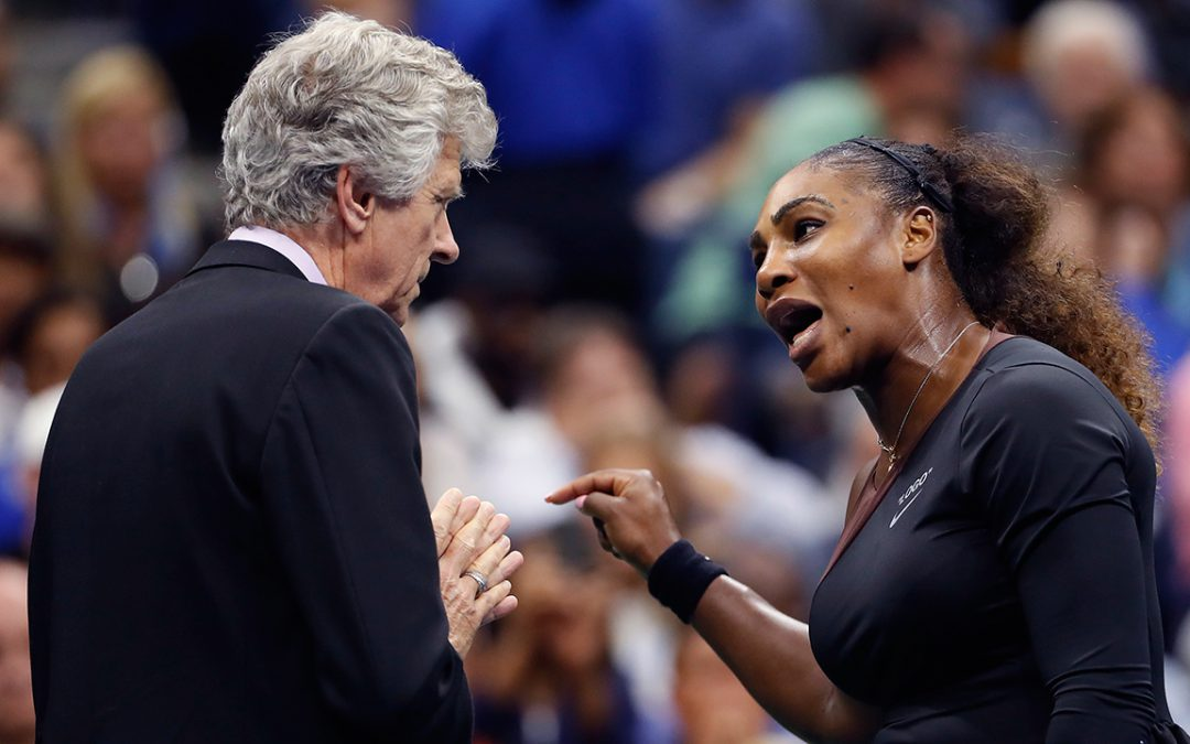 SPORTSNET TENNIS: Ex-tennis pros criticize U.S. Open final refereeing