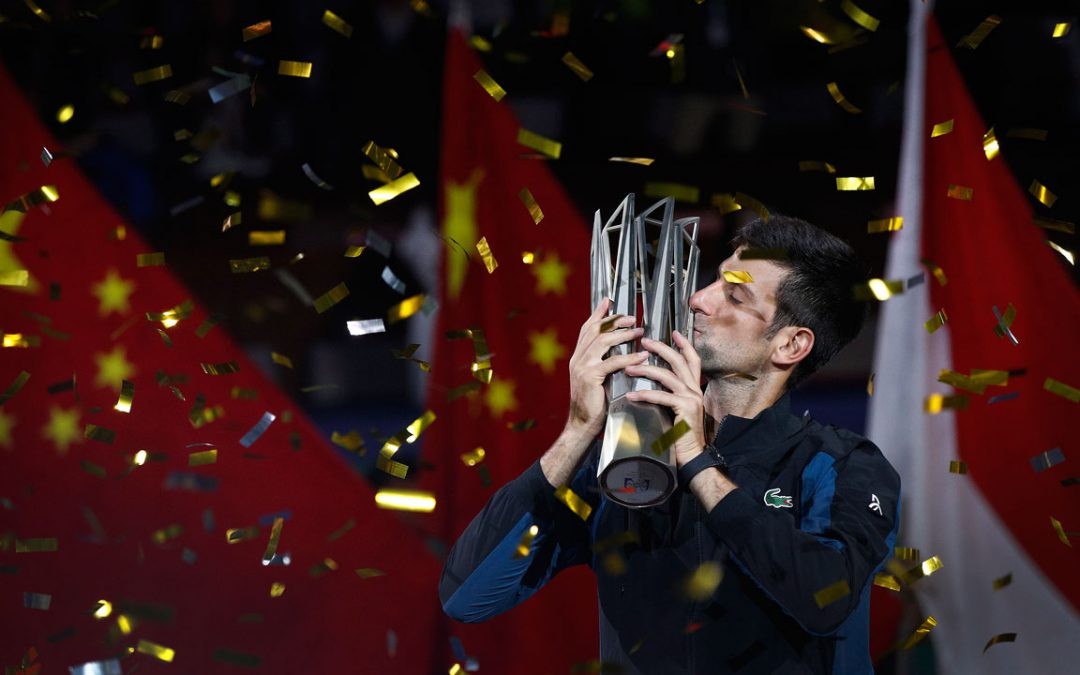 SPORTSNET TENNIS: Djokovic wins a record fourth Shanghai Masters title