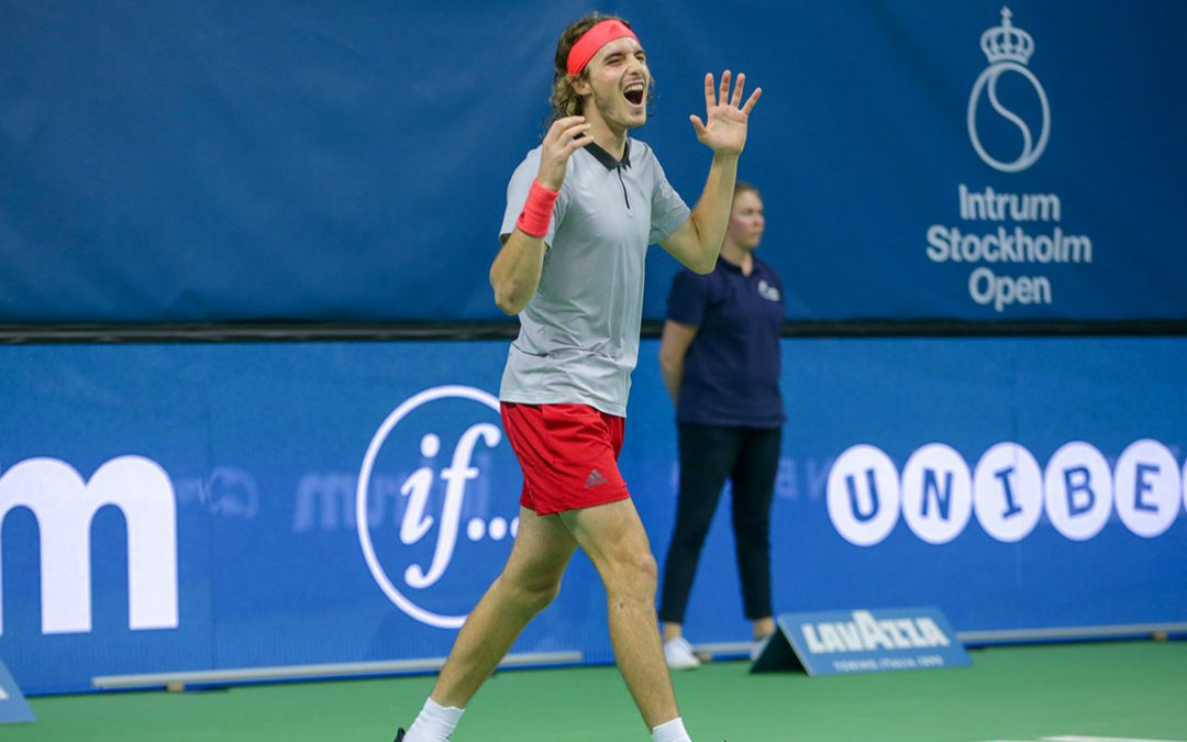 SPORTSNET TENNIS: Tsitsipas becomes 1st Greek to claim ATP title with Stockholm Open win