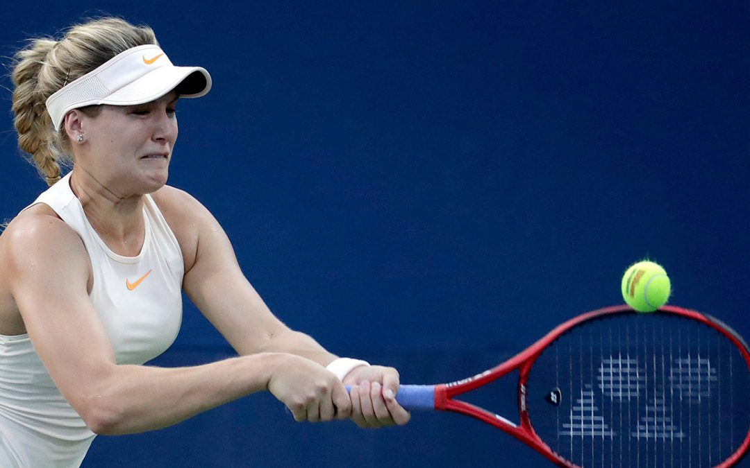 SPORTSNET TENNIS: Canada's Eugenie Bouchard through to Luxembourg semifinals