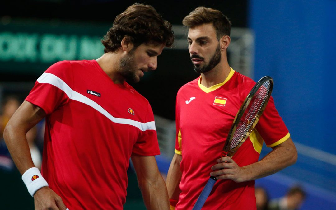 SPORTSNET TENNIS: Spain salvages pride against France following Davis Cup exit