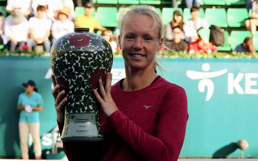 SPORTSNET TENNIS: Bertens wins Korea Open over Tomljanovic