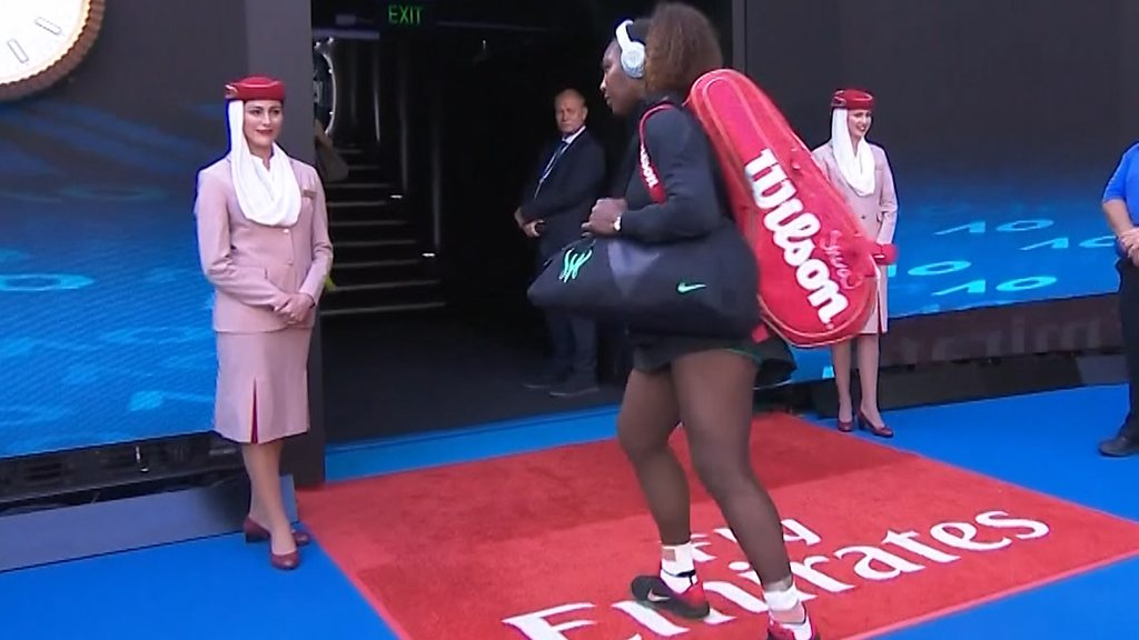 BBC TENNIS: Australian Open: Serena Williams retreats after walkout mix-up