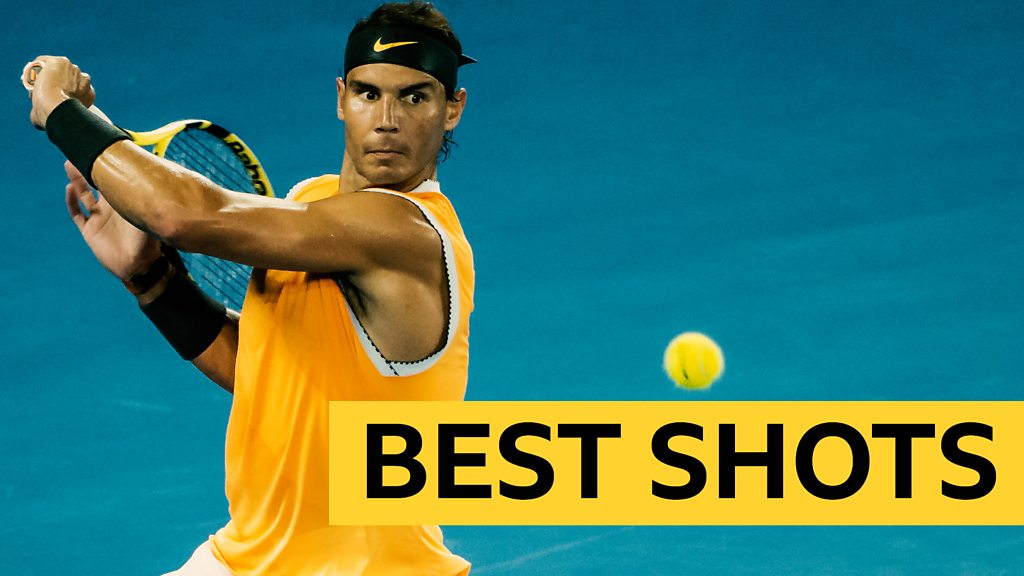 BBC TENNIS: Australian Open 2019: Best shots as Rafael Nadal beats Frances Tiafo