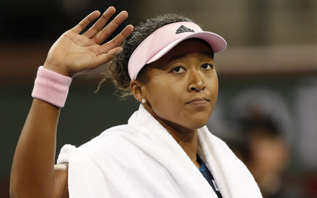 BBC TENNIS: World's top two Osaka and Halep beaten at Indian Wells