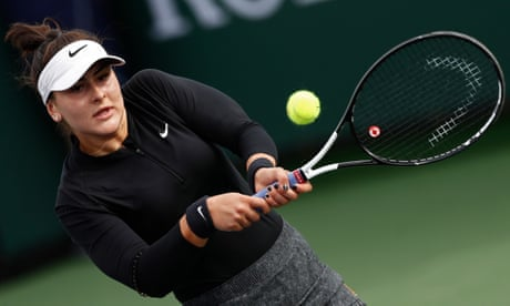 GUARDIAN TENNIS: Tennis's attention should be on Andreescu's exploits, not boardroom coups | Kevin Mitchell
