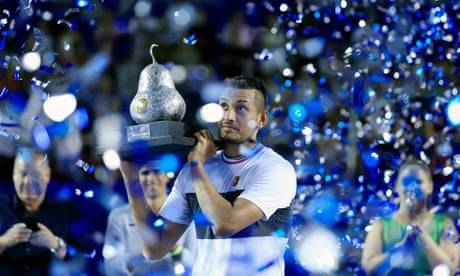 GUARDIAN TENNIS: Nick Kyrgios tops stellar week with Zverev win in Mexico Open final