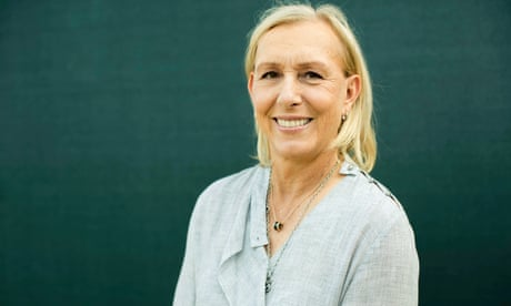 GUARDIAN TENNIS: Martina Navratilova criticised over 'cheating' trans women comments