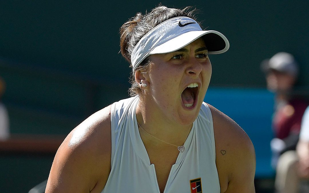 SPORTSNET TENNIS: Twitter Reaction: Bianca Andreescu makes tennis history at Indian Wells