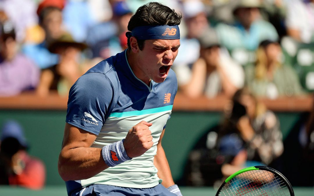 SPORTSNET TENNIS: Canadian Milos Raonic advances to semifinals at BNP Paribas Open