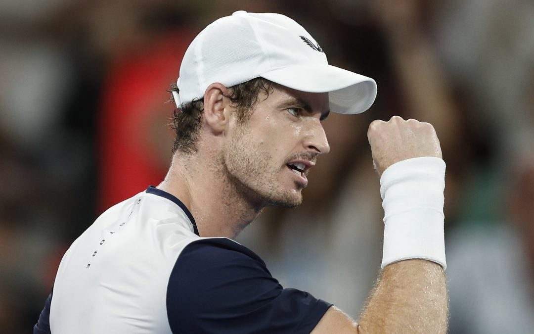 BBC TENNIS: Murray shares first hit on court following surgery