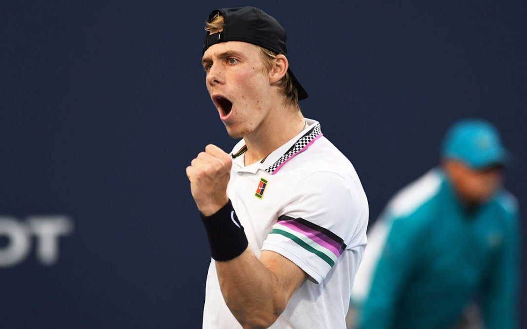 SPORTSNET TENNIS: Canadian Denis Shapovalov jumps into top 20 in ATP Tour rankings