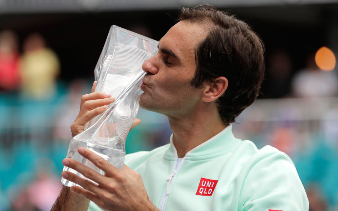 SPORTSNET TENNIS: Federer wins 101st title, beats Isner in Miami Open final