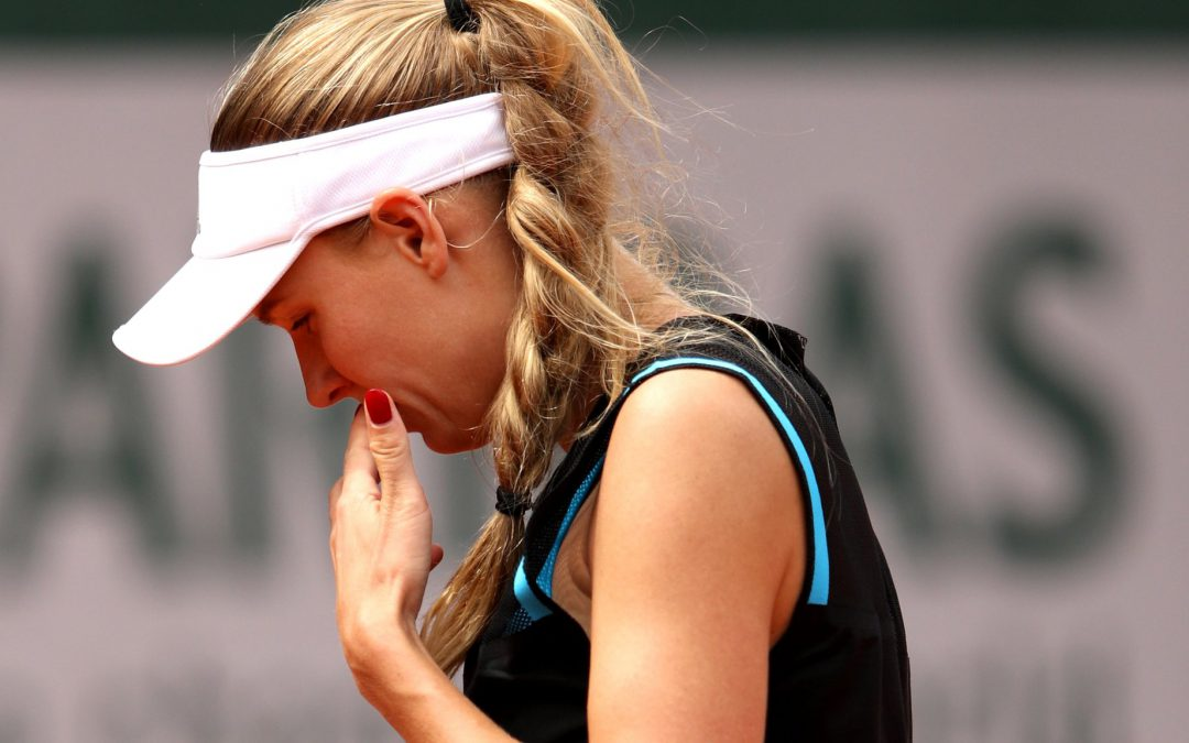 BBC TENNIS: 'I ran out of steam' – Wozniacki after shock first-round loss in Paris