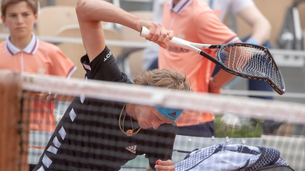 BBC TENNIS: Zverev pulls through – via five sets and a smashed racquet