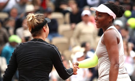 GUARDIAN TENNIS: Venus Williams and Angelique Kerber make first-round French Open exits