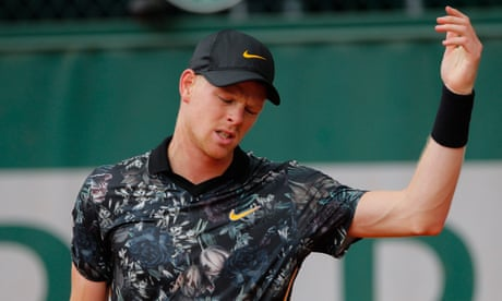 GUARDIAN TENNIS: Kyle Edmund limps out of French Open amid doubts for grass season