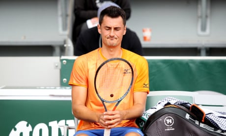 GUARDIAN TENNIS: Bernard Tomic 'pretty sure' he tried in one-sided French Open defeat