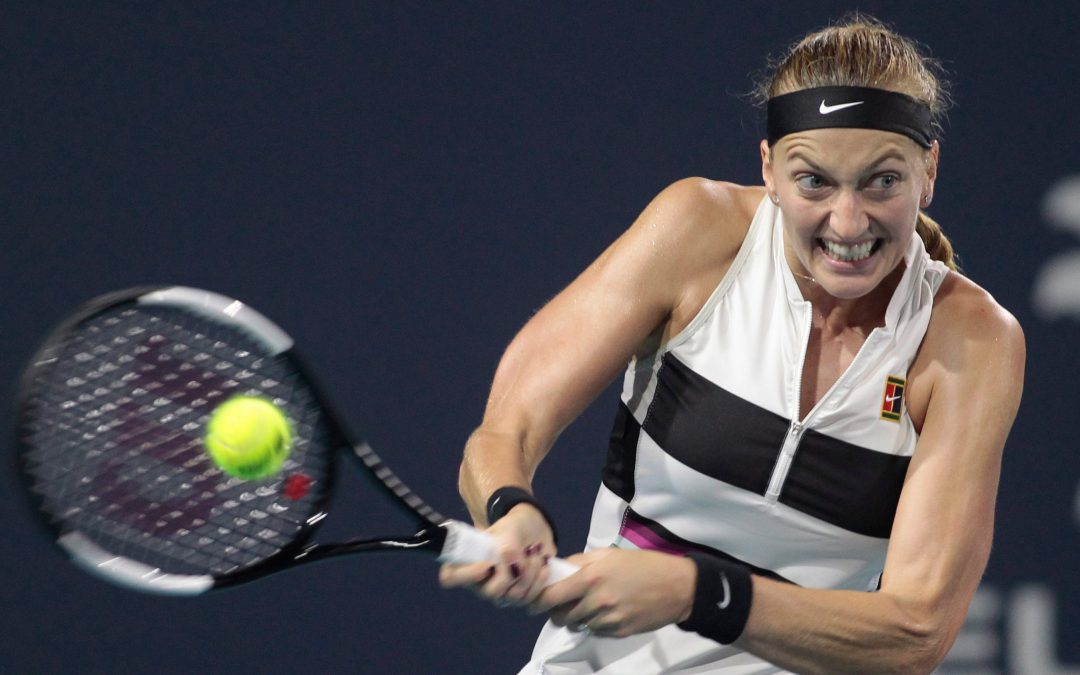 SPORTSNET TENNIS: Defending champ Petra Kvitova reaches third round of Madrid Open