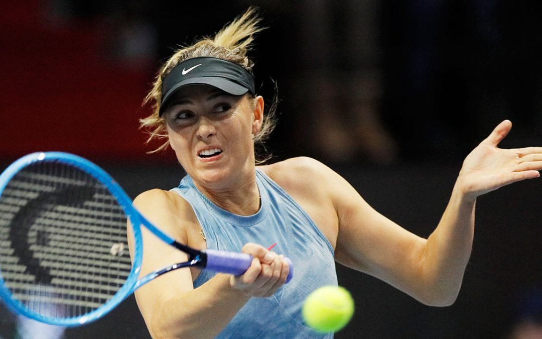 SPORTSNET TENNIS: Sharapova to return at Mallorca Open after shoulder injury
