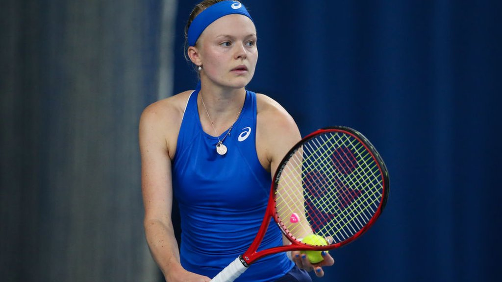 BBC TENNIS: Britain's Harriet Dart loses last 16 match at Nottingham
