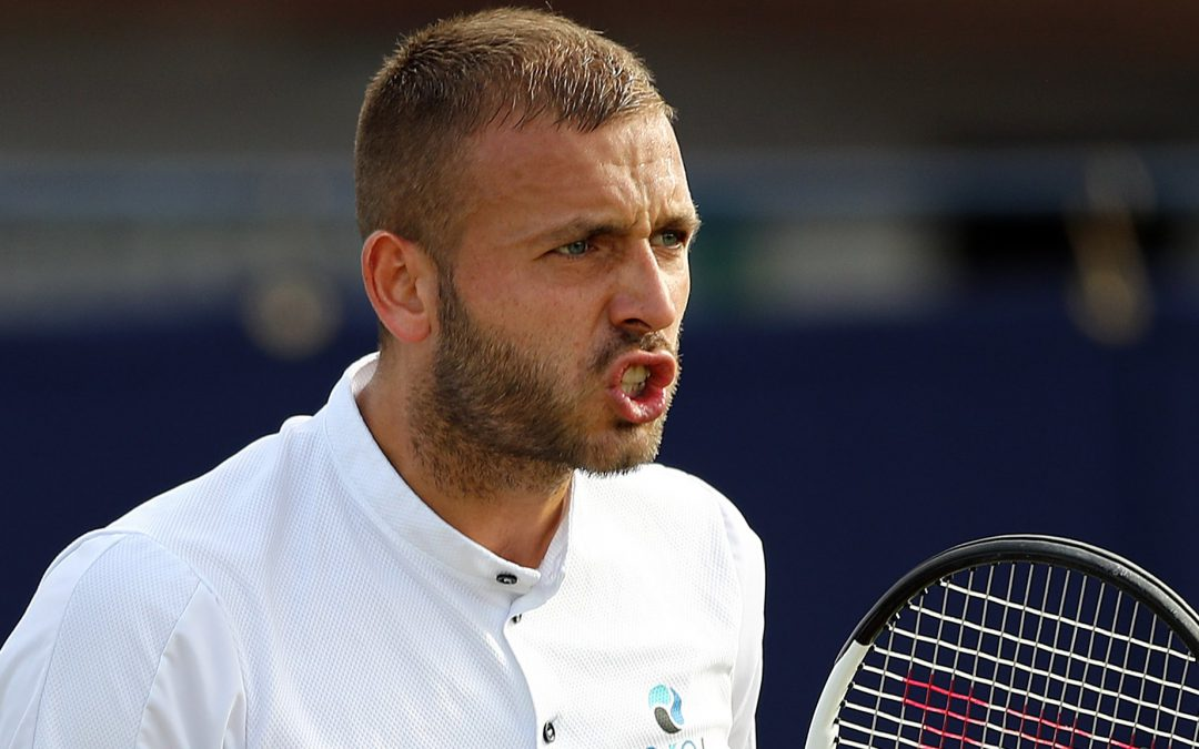 BBC TENNIS: Dan Evans beats Mikael Ymer to advance in Nottingham