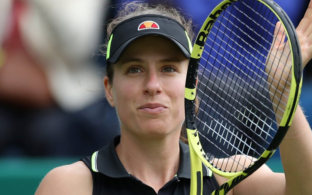 BBC TENNIS: Nature Valley Classic: Johanna Konta advances but Heather Watson loses