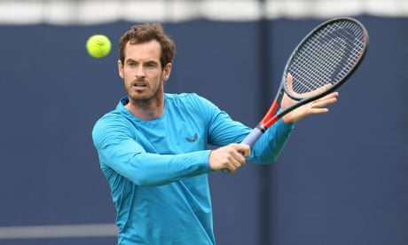 GUARDIAN TENNIS: Andy Murray hopes to play singles this year but sets no timescale for return