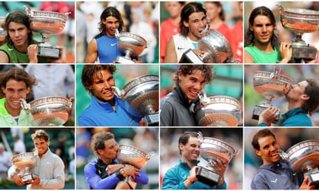GUARDIAN TENNIS: The story of Rafael Nadal's dynasty at the French Open – video report