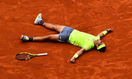 GUARDIAN TENNIS: Rafael Nadal beats Dominic Thiem to win French Open men's final – as it happened
