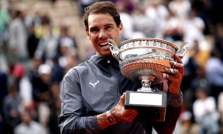 GUARDIAN TENNIS: Rafael Nadal beats Dominic Thiem to win 12th French Open title