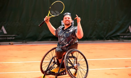 GUARDIAN TENNIS: Dylan Alcott on track for calendar year grand slam