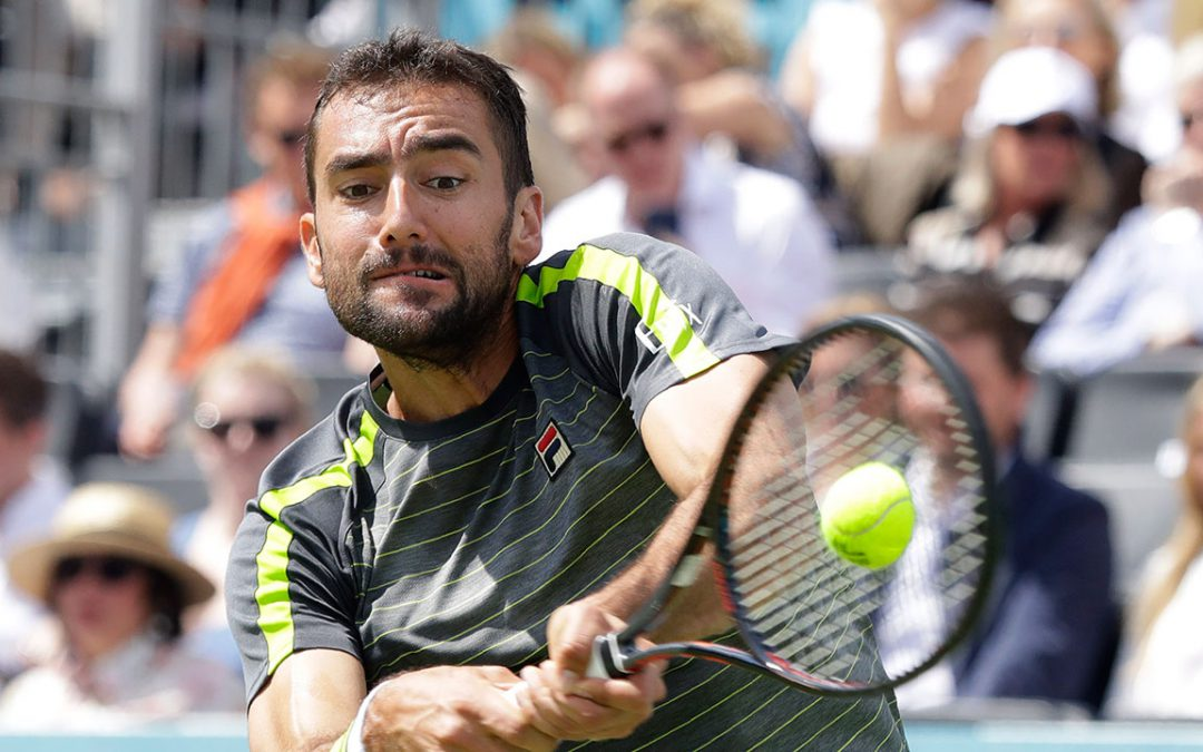 SPORTSNET TENNIS: Marin Cilic begins Queen's Club title defence with win