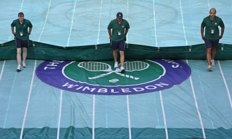 GUARDIAN TENNIS: Wimbledon chief says tennis may not return until 2021 due to coronavirus