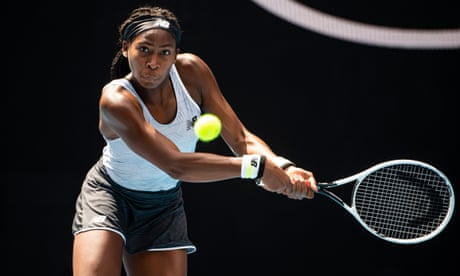 GUARDIAN TENNIS: 'I was just lost': Coco Gauff says rapid rise and hype led to depression